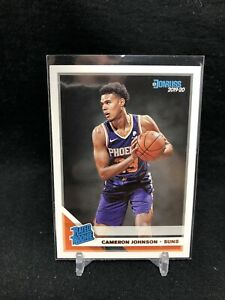 Cameron Johnson 2019-20 Donruss Rated Rookie Card No. 210 - Phoenix Suns AB99