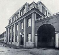 ungelocht Gladbacher Wollindustrie AG Mönchengladbach hist Textil Aktie 1927 NRW