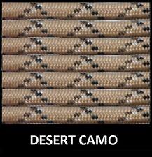 1000ft Spool of 550 Parachute Paracord Type III 7 Strand Nylon Cord Desert Camo