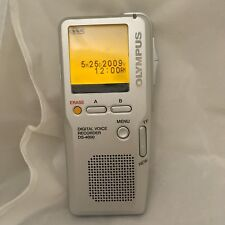 Olympus Digital Voice Recorder DS-4000 Handheld Dictation No XD Card