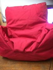 Humza Amani Bonkers Small Bean Bag Chair in Hot Pink