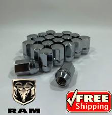 20 Dodge OEM Lug Nuts 9/16-18   RAM 1500, Durango, Dakota, Raider, Factory Lugs
