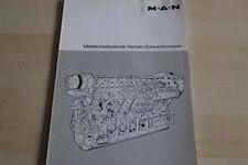 144908) MAN - Schwerölmotoren - Prospekt 197?
