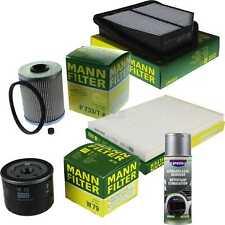 MANN-FILTER Paket + Presto Klima-Reiniger für Suzuki Grand Vitara II JT TE TD