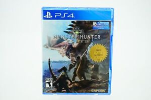 Monster Hunter World: Playstation 4 [Brand New] PS4