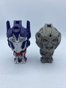 Transformers 2011 Burger King Toy Optimus Prime Talking Tested Works