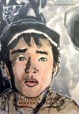 2008 Topps Indiana Jones MASTERPIECES Sketch Card John Watkins-Chow SHORT ROUND