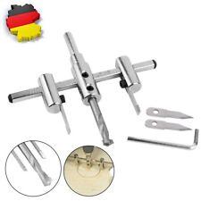 Verstellbare Lochsäge Lochbohrer Kreisschneider Rundschneider für Holz �˜40-120mm