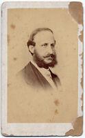 CDV Francesco II Re di Napoli Foto originale albumina 1870c King Naples S1372