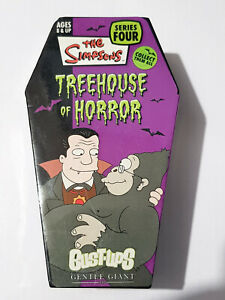 Simpsons Dracula Hibbert, Grandpa Treehouse of Horror Bust-Ups S 4 Halloween NEW
