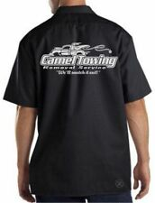 CAMEL TOWING Mechanics Work Shirt ~ Camel Toe Snatch It Out! FUNNY