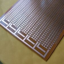 5pcs Stripboard Prototyping ​8.5x20cm 4er platine Single Side circuit board pcb