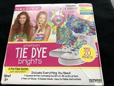 Premium Tie Dye Brights Kit for Tie-dying Make It Mine NEW