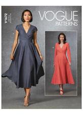 Vogue V1672 PATTERN - Misses Dress - Size 6-22 -BN