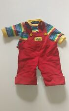 VINTAGE Boy Doll MY BUDDY Outfit CLOTHES  Overall and Shirt Hasbro Toy
