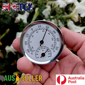 Temperature Gauge Analogue Humidity Hygrometer Classic Simple Thermometer Meter