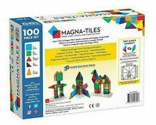 Magna-Tiles Metropolis 100 transparent 3D construction toys