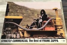 FRANK ZAPPA Strictly commercial promo poster RARE PROMO ONLY 24X18 RYKO 1995