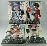 Nightschool The Weirn Books vol 1-4 complete series manga