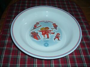 2 1984 Sarajevo Winter Olympics Campbell's Official Soup Bowls by Corelle