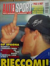 Auto & Sport ROMBO 20 1995 GP SPAGNA Ferrari deludente Schumacher domina