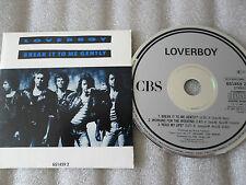 CD-LOVER BOY-BREAK IT TO ME GENTLY-READ MY LIPS-WORKING(CD SINGLE)-1988- 3 TRACK