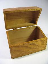 Vintage 1900s Solid Oak Desk-Top Index Card File Box—H.Boberg Co. No. 353
