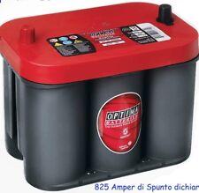 Batteria Optima Red 55ah 825 Amper Di Spunto Dichiarato 1000 Amper Di Spunto Eff