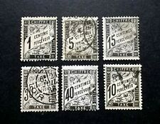 LOT TIMBRES FRANCE ANCIENS TAXE 1881