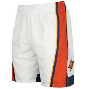 White Golden State Warriors Mitchell & Ness NBA Men's Swingman Shorts