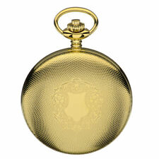 Lever Gold Plated Pocket Watches with 12-Hour Dial