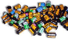 LOTTO di 100 emptyassorted 35mm Pellicola BARATTOLI/Cartucce/cassettesfor respooling