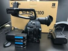 Canon C100 Mark II Cinema Camera with Dual Pixel CMOS AF 45 Hours USA Model