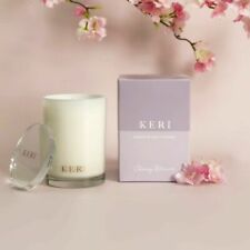 Luxury Soy Candle 280g Jar Cherry Blossom flowers Fragrances Boutique Jar 58HRS