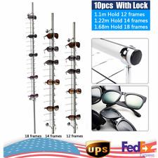 10pcs 121418 Frame Eyeglasses Sunglasses Retail Display Stand Holder Show Rack