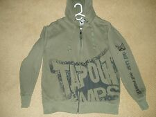"""Men's, """"TAPOUT MPS, LONG-SLEEVE, ZIP FRONT HOODED JACKET"""", Size Large, Soft"""
