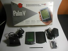 Palm V - Palm 5 Pda in Box with Case Cradle Stylus Untested Unused Cond.