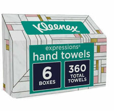 Kleenex Disposable Hand Towels - 6 Boxes - 360 Count Total
