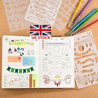 20x Bullet Journal Stencils Plastic Planner Stencils Drawing Templates Set UK