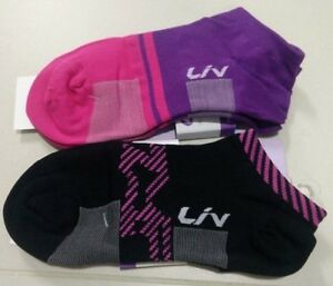 LIV by Giant Cycling Socks - Made in Korea Assorted Sizes and Colors For Women