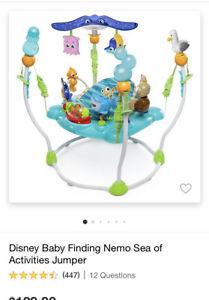 Disney Baby Finding Nemo Sea of Activities Jumper 60701