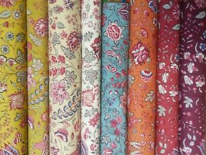 Dutch Heritage Chintz Fabric DHER1025, Ideal for Quilting, Dressmaking