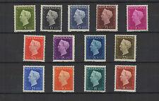 Pays-Bas 1947-48 Reine Wilhelmine 13 timbres neufs /T2203