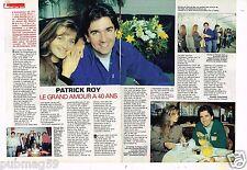 Coupure de presse 1992 (2 pages) Patrick Roy