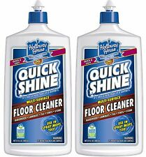 2 Holloway House Quick Shine MULTI SURFACE FLOOR CLEANER Laminate Tile  27 oz