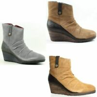The North Face Womens Bridgeton Wedge Zip Ankle Boots