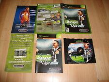 MANAGER DE LIGA 2006 DE CODEMASTERS PARA LA XBOX 360 USADO COMPLETO