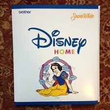 Snow White Embroidery Designs Card For Brother Disney Sewing Machine
