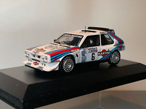 RALLY 1/43 MARTINI LANCIA DELTA S4 Gp B HENRI TOIVONEN LOMBARD RAC 1985 WRC RARE