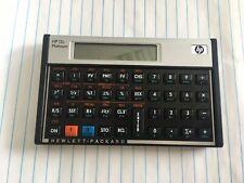 Hewlett Packard Hp 12c Financial Calculator With Case Sleeve